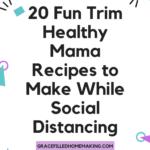 20 Fun Trim Healthy Mama Recipes to Make While Social Distancing