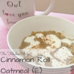 Cinnamon Roll Oatmeal THM (E) Breakfast