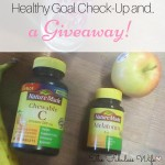 Healthy Goal Check-Up and a Giveaway!