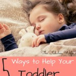 5 Ways to Help Your Toddler Wake Up Happy