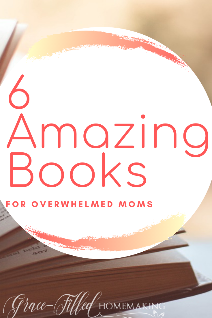 If you're feeling brought down by Mom life, you might want to take a look at this list of books for overwhelmed Moms. Every book has helped me so much!