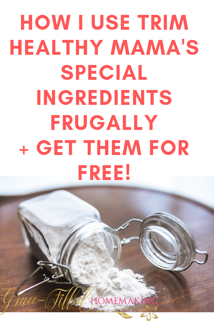 While Trim Healthy Mama special ingredients aren't needed, they most certainly are fun! Here's how I use them frugally and get them for free!