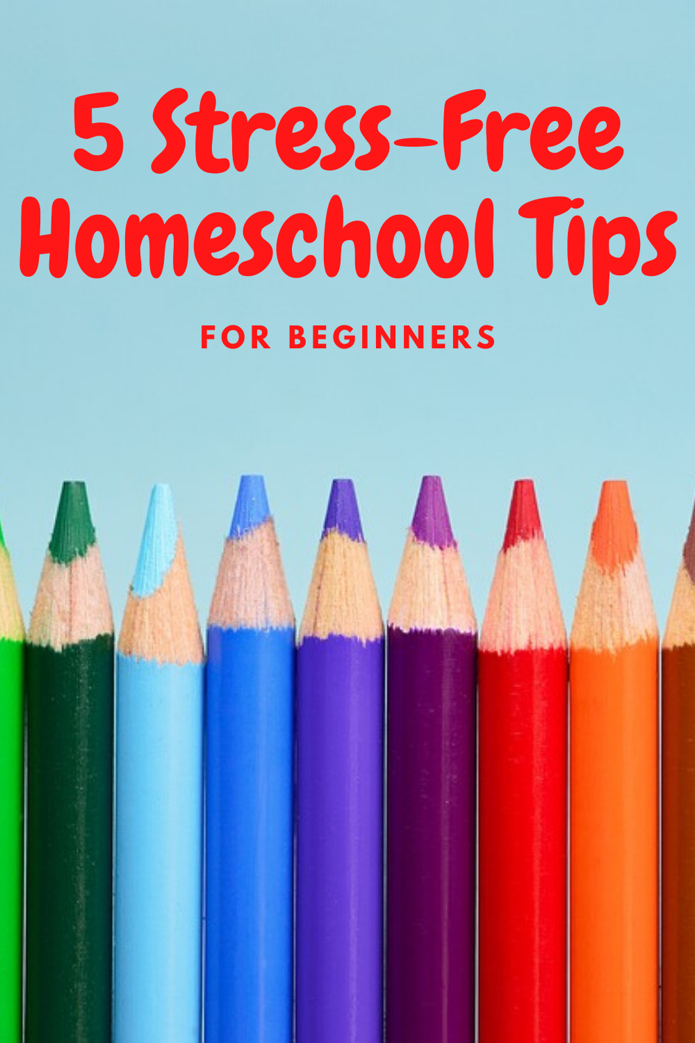 "Are you apart of the sudden rush of ""new"" homeschoolers"" Check out these stress free homeschool tips for beginners! They'll make life so much easier!"