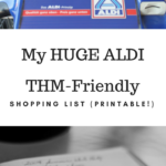 My HUGE List of THM Must-Haves from ALDI!