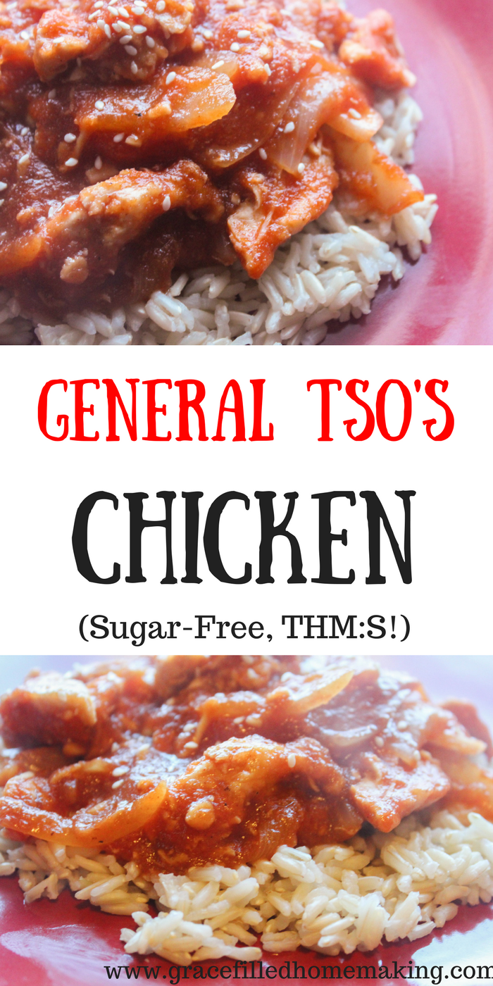 My General Tso's Chicken is an easy family-friendly meal!