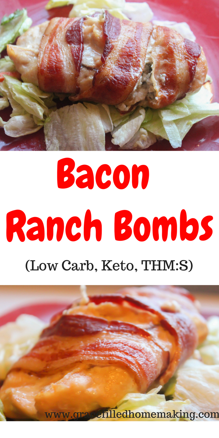 Bacon Ranch Bombs are the ultimate man-friendly low-carb dinner!