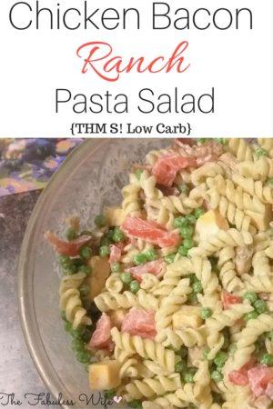 Chicken Bacon Ranch Pasta Salad (S)