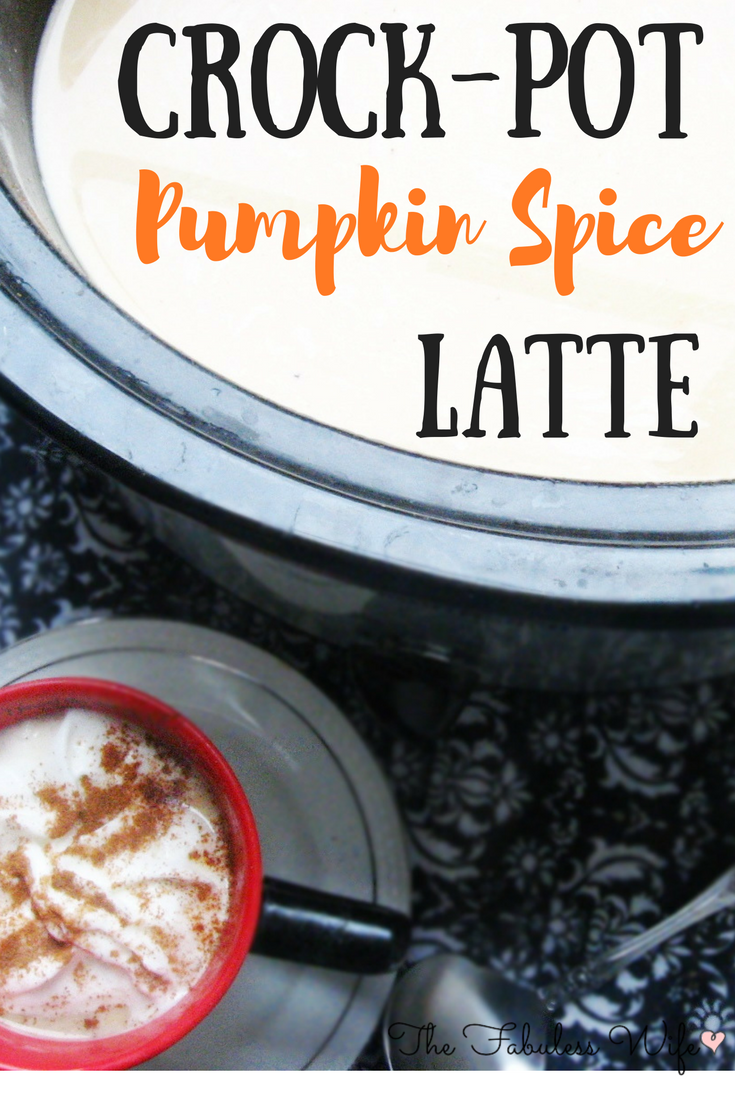 Crock-Pot Pumpkin Spice Latte