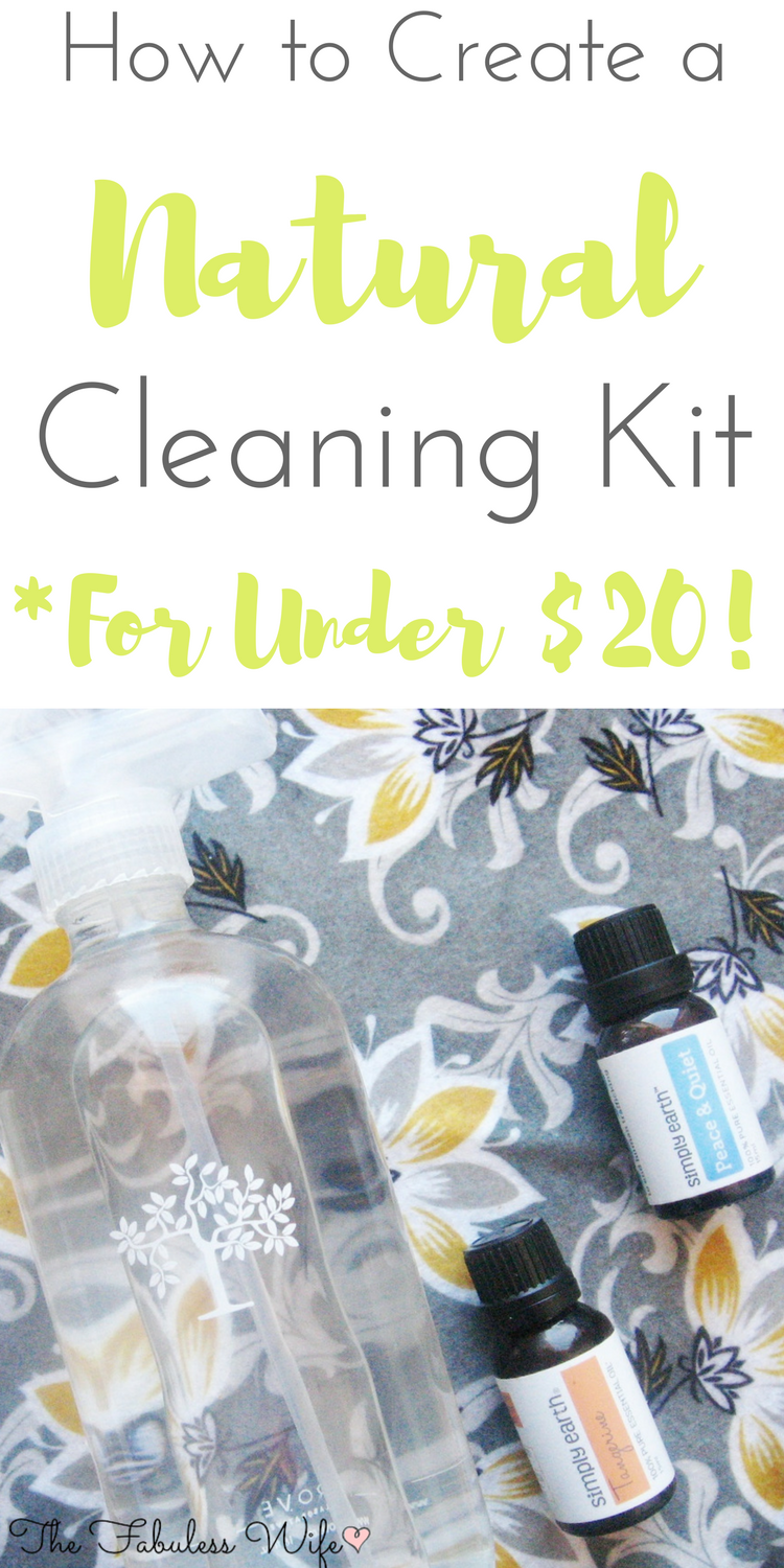 How to Create a Natural Cleaning Kit for Under $20!