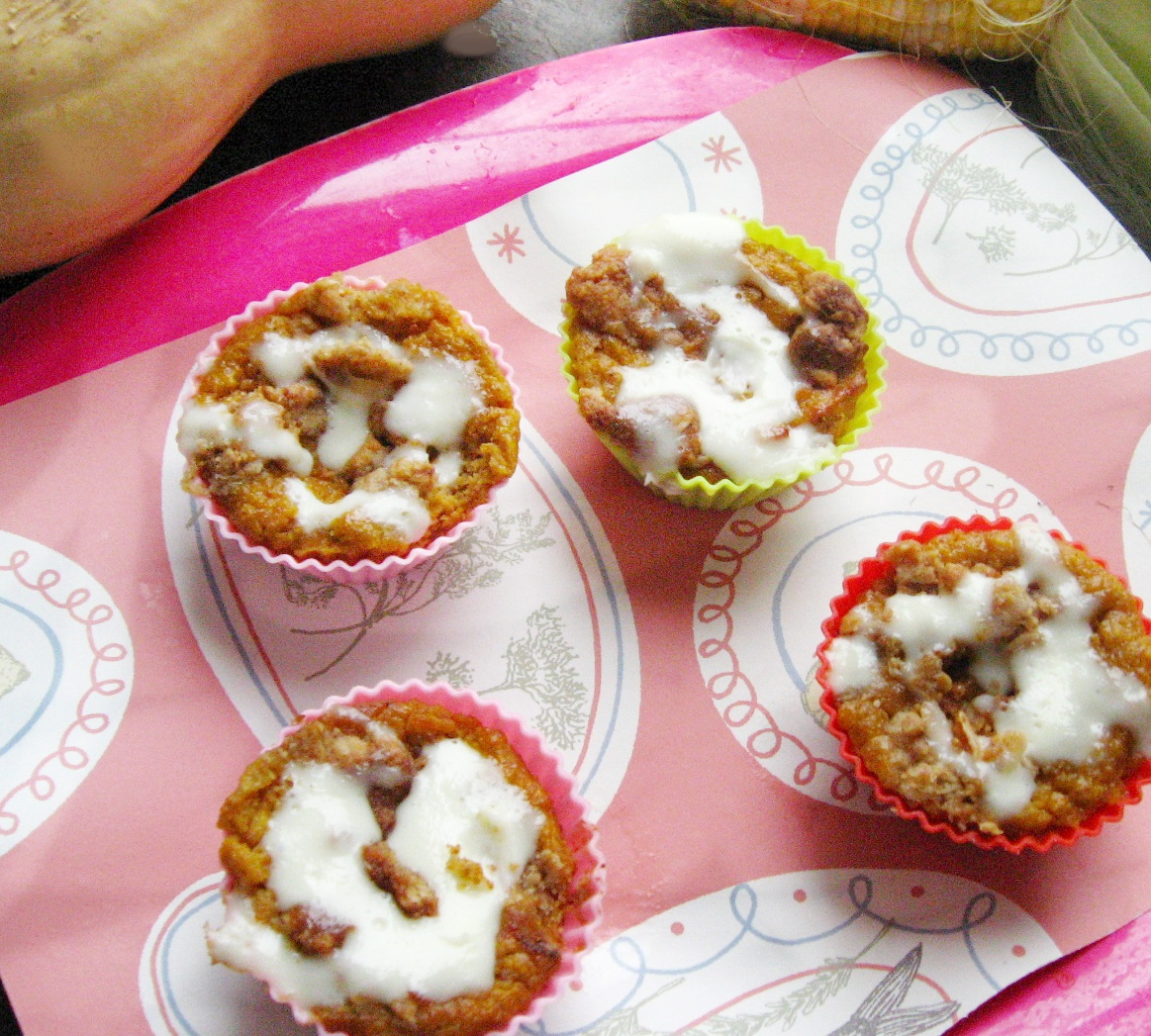 Pumpkin Roll Muffins: Low-Carb, Sugar-Free, THM S!