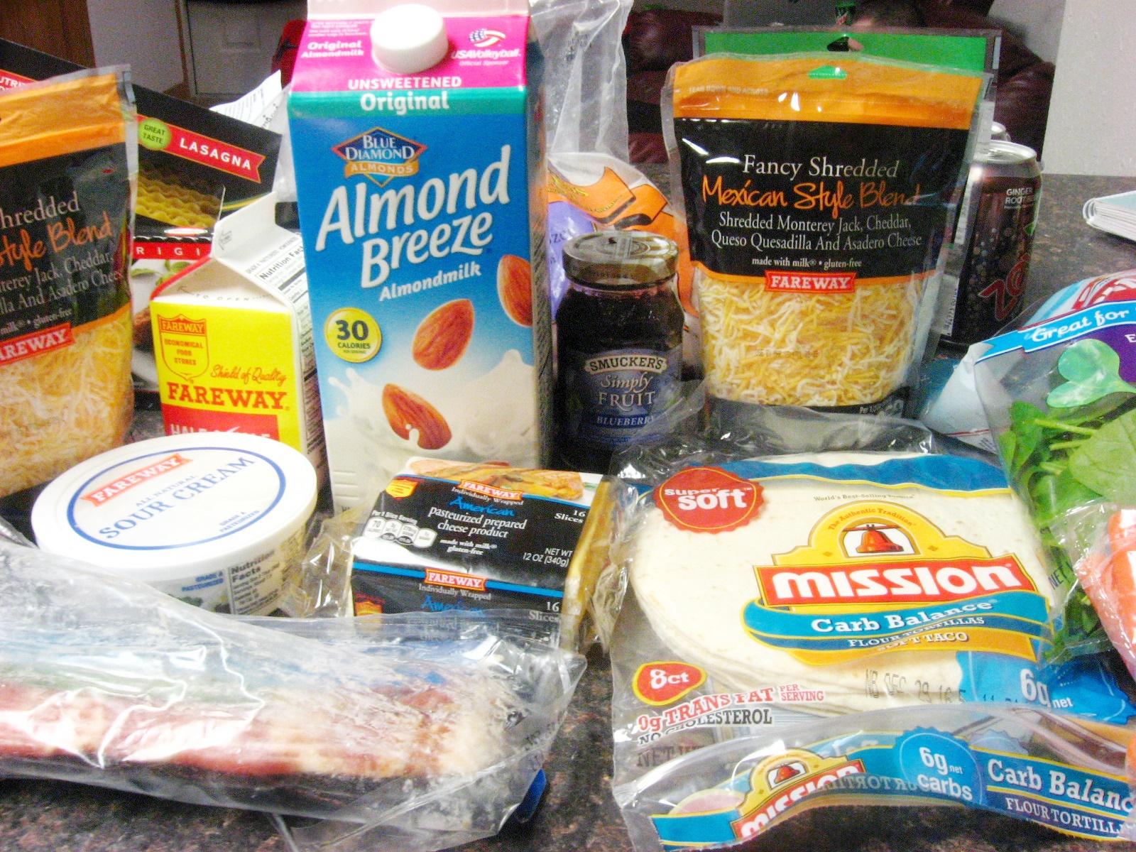 Trim Healthy Mama Grocery Haul