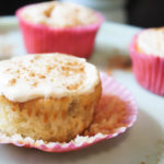 Maple Cupcakes with Pumpkin Spice Frosting
