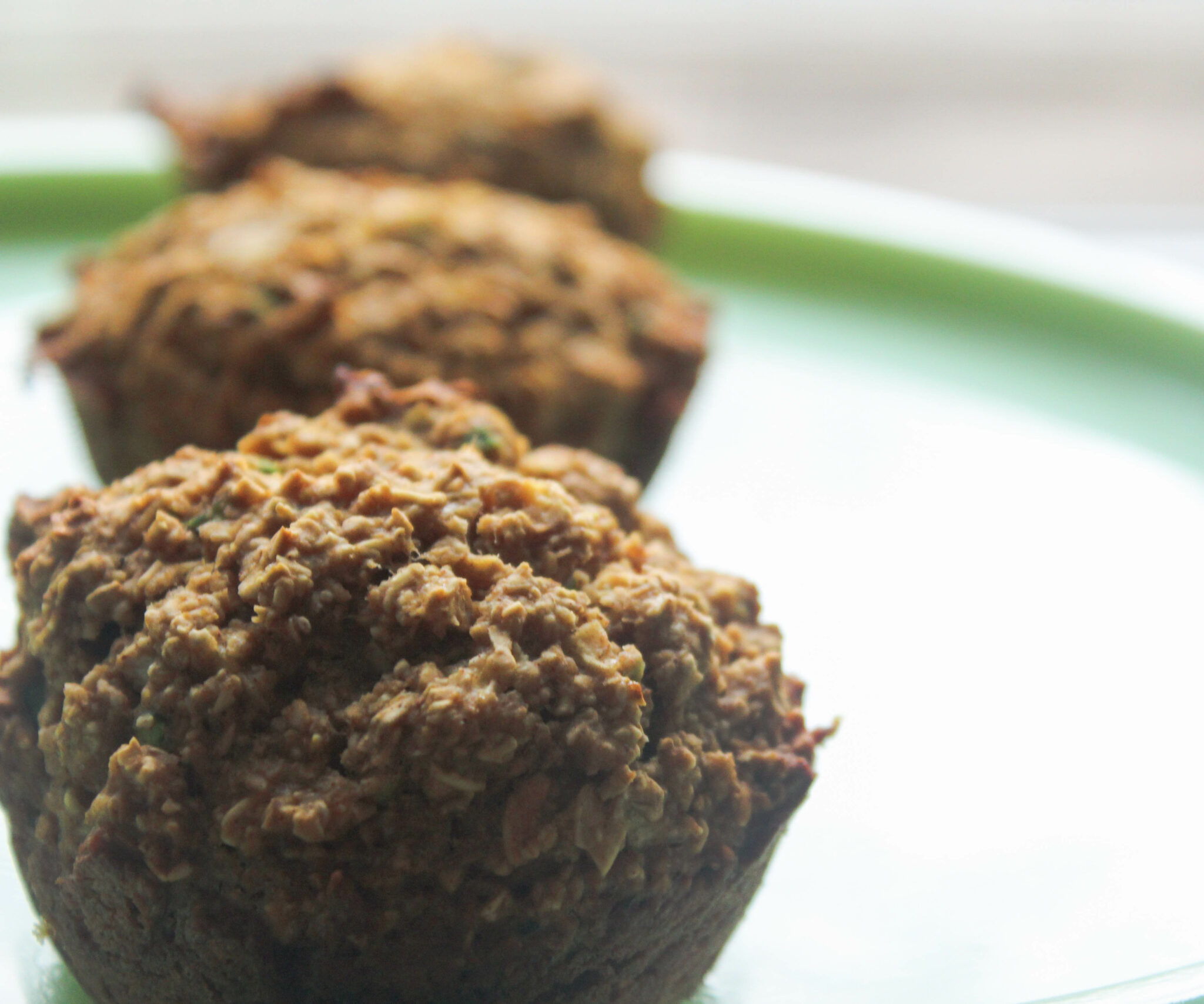 Oatmeal Zucchini Muffins (THM:E! No Special Ingredients!)