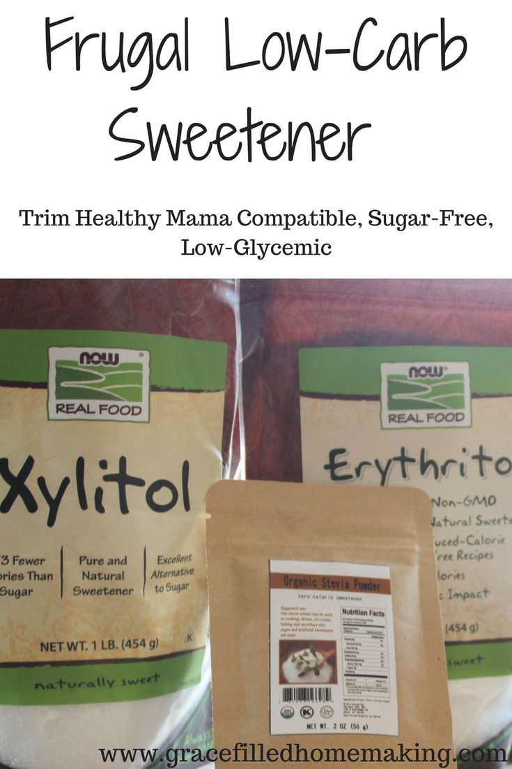 low-carb sweetener blend