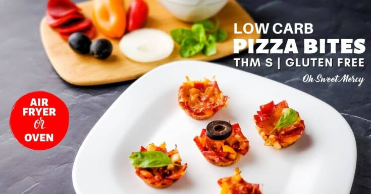 Low Carb Pizza Bites | THM S, Gluten Free