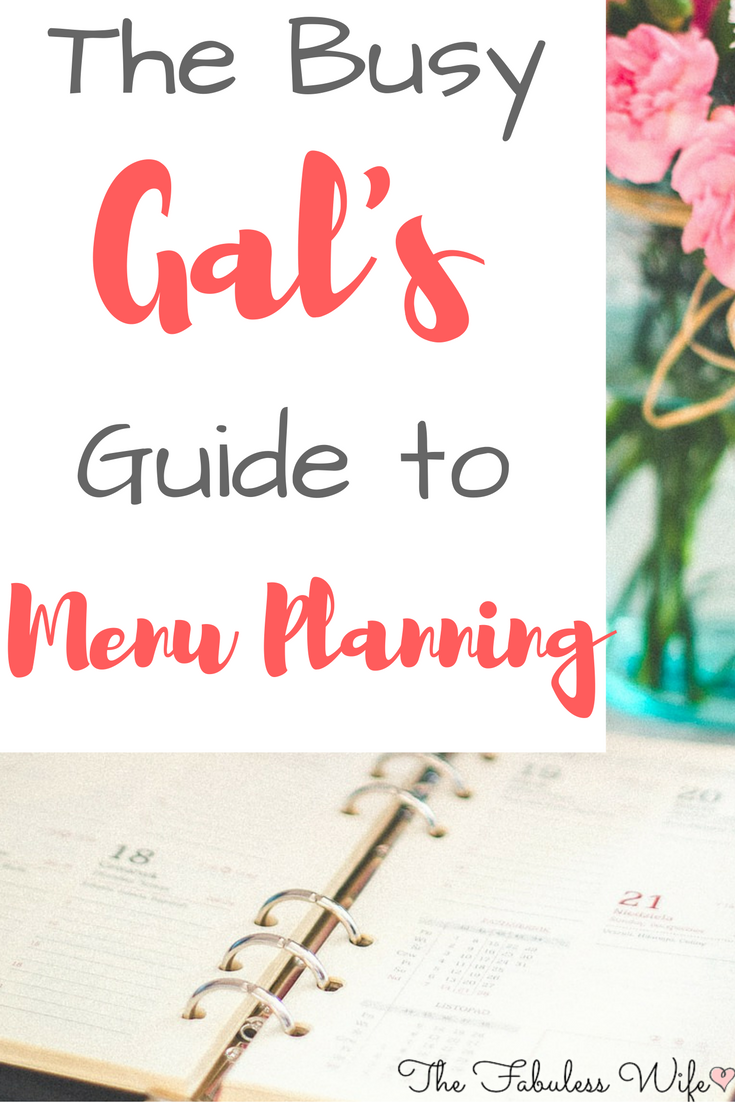 The Busy Mama's Ultimate Guide to Menu Planning